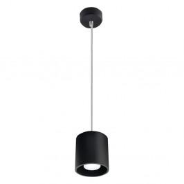 Čierne závesné svetlo Nice Lamps Roda 1
