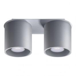 Sivé stropné svetlo Nice Lamps Roda