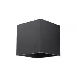 Čierne nástenné svietidlo Nice Lamps Geo