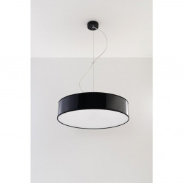 Čierne stropné svetlo Nice Lamps Atis 45