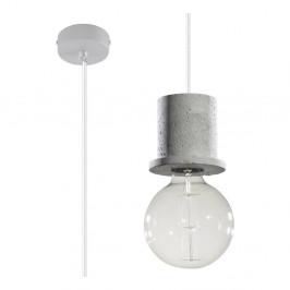 Sivé stroppné svetlo Nice Lamps Bresso