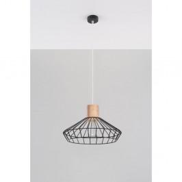 Čierne stropné svetlo Nice Lamps Avilla