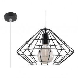 Čierne stropné svetlo Nice Lamps Editta