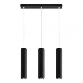 Čierne stropné svetlo Nice Lamps Castro 3