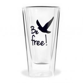 Dvojitý pohár Vialli Design Be Free, 300 ml