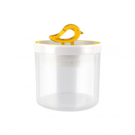 Žltá dóza Vialli Design Livio, 0,4 l