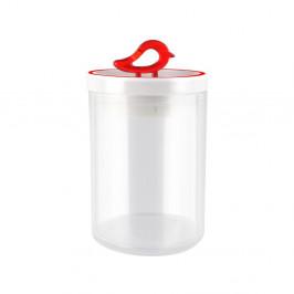 Červená dóza Vialli Design Livio, 800 ml