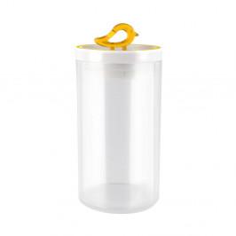 Žltá dóza Vialli Design Livio, 1,2 l