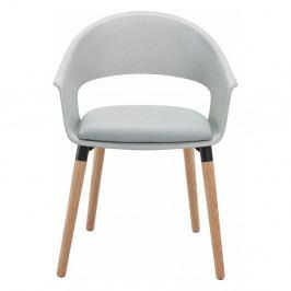 Sada 2 sivých stoličiek Støraa Alto