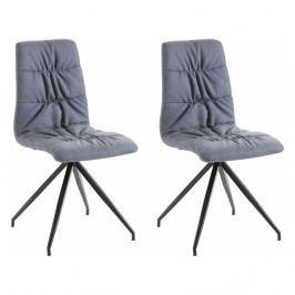 Sada 2 modrých stoličiek Støraa Gino