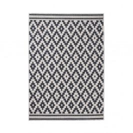 Čierny vzorovaný koberec Think Rugs Cottage 120×170cm