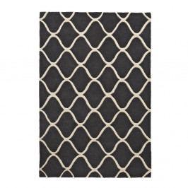 Sivý vlnený koberec Think Rugs Elements Grey, 120×170cm