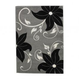Čierno-sivý koberec Think Rugs Verona, 60x120cm