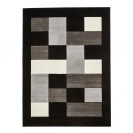 Sivo-čierny koberec Think Rugs Matrix, 80×150cm