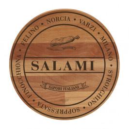 Doska z bukového dreva Bisetti Broad Salami, 30 cm