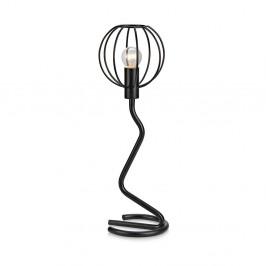 Čierna stolová lampa Markslöjd Clive