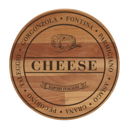 Doska z bukového dreva Bisetti Broad Cheese, 30cm