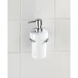 Dávkovač mydla bez nutnosti vŕtania Wenko Vacuum-Loc Capri, až 33g