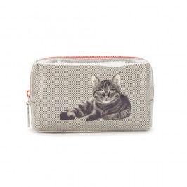 Kozmetická taška Catseye London Etching Cat