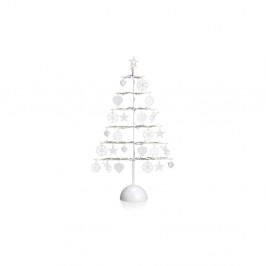 Biela LED svietiaca dekorácia Markslöjd Borken, výška 45 cm
