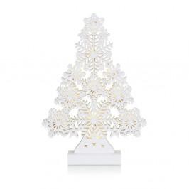 Biela svietiaca dekorácia Markslöjd Prince, výška39cm