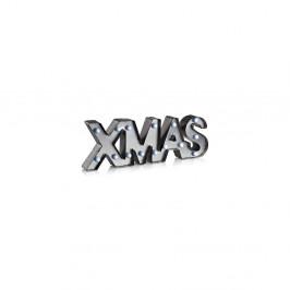 Sivá svetelná LED dekorácia Markslöjd Xmas, dĺžka 47 cm