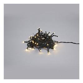 Čierna svietiaca LED reťaz Markslöjd Sken Multi Lungo, 240svetielok