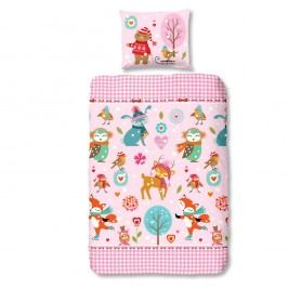 Detské bavlnené obliečky Muller Textiels Sweet, 140 x 200 cm