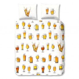 Bavlnené obliečky Good Morning Beer, 140x200cm