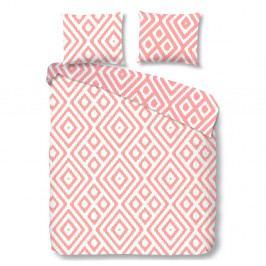 Ružové bavlnené obliečky Good Morning Frits, 140x200cm