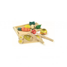 Drevená hracia sada Legler Breakfast