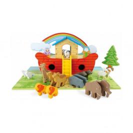 Drevená hracia sada Legler Noah 's Ark