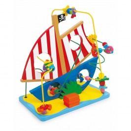 Drevená hračka Legler Pirate Ship