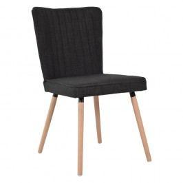 Čierna jedálenská stolička RGE Nils
