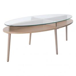 Konferenčný stolík z dubového dreva RGE Solo,šírka140cm