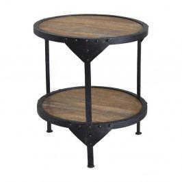 Odkladací stolík z mangového dreva RGE Bombay