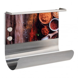 Magnetický držiak na utierky s poličkou Spices