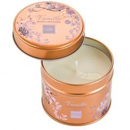 Aromatická sviečka v plechovke Copenhagen Candles Vanilla with Lavender, doba horenia 32 hodín