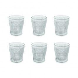 Sada 6 pohárov Villa d'Este Trasparenti