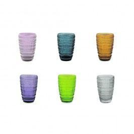Sada 6 farebných pohárov Villa d'Este Spritz