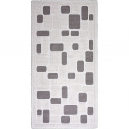 Béžový odolný koberec Vitaus Mozaik Bej, 80 x 150 cm