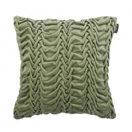 Zelený vankúš ZicZac Glister, 45x45cm