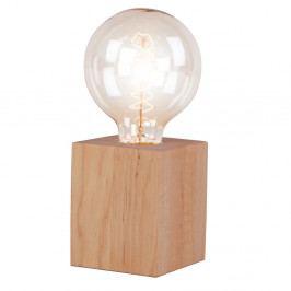 Stolová lampa z jelšového dreva Nørdifra Blocks, výška 10cm