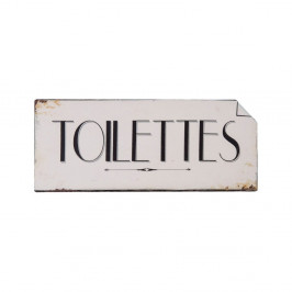 Nástenná ceduľka na toalety Antic Line Toilettes