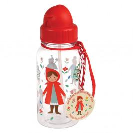 Fľaša s motívom Červenej Čiapočky Rex London Red Riding Hood