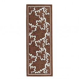 Hnedý vysokoodolný kuchynský behúň Floorita Maple Marrone, 55×140cm
