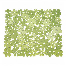 Zelená podložka do umývadla iDesign Blumz