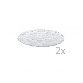Sada 2 tanierov z krištáľového skla Nachtmann Sphere, ⌀32 cm