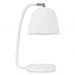 Biela stolová lampa Citylights Newport