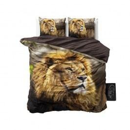 Obliečky z mikroperkálu Sleeptime Lion Mind, 200 x 220 cm